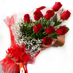 13 Red Rose Bouquet